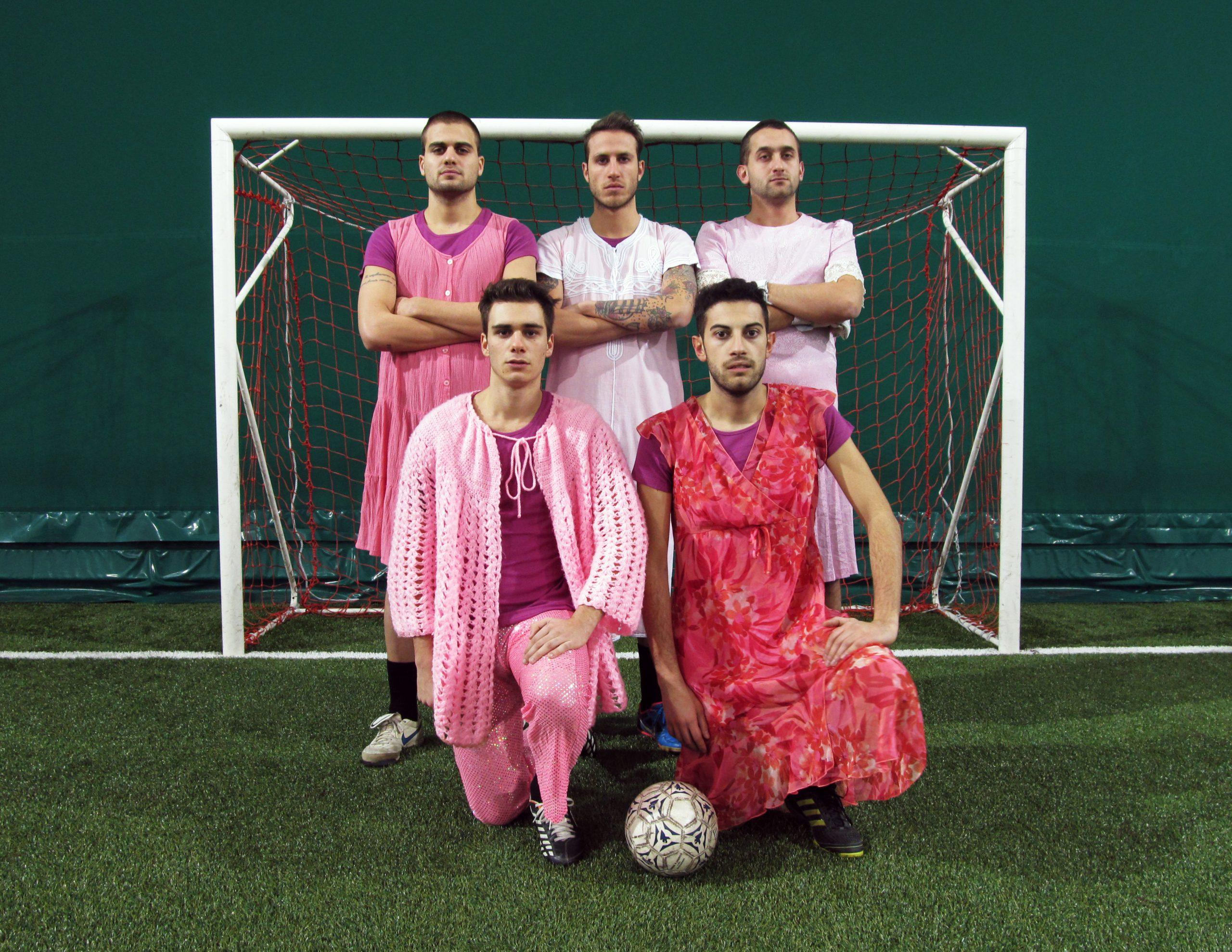Football Match 2014 (Pink team) Luca Bosani